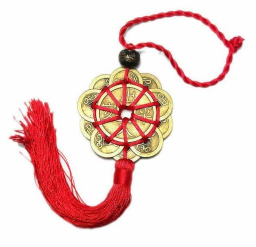 Feng Shui Lucky Charms with Red Chinese Knot