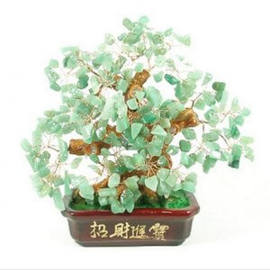 Feng Shui Crystal Money Tree for Fortune