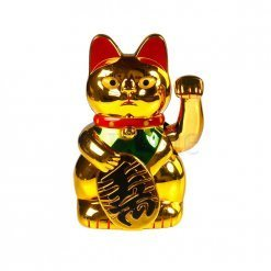 Feng Shui Cat for Luck and Wealth