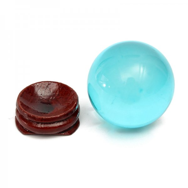 Blue Crystal Ball Feng Shui