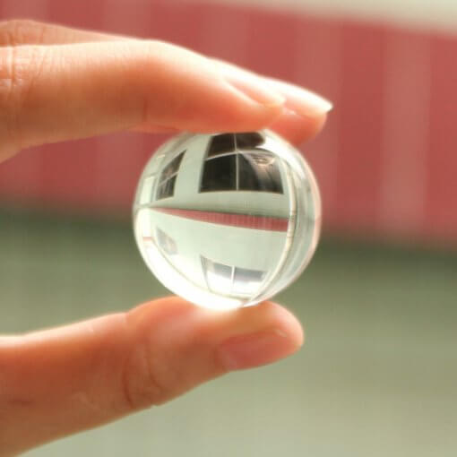 White Feng Shui Crystal Sphere