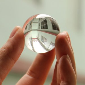 Clear Crystal Sphere Feng Shui