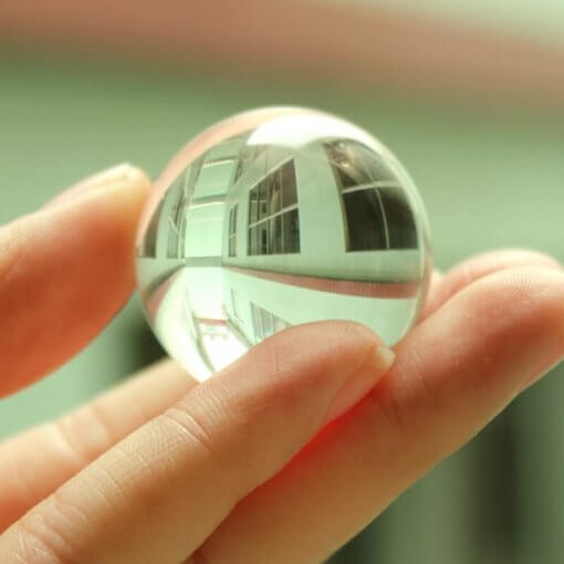30/40mm Clear Feng Shui Crystal Sphere