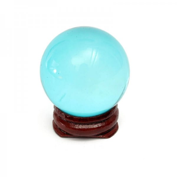 40mm Magic Blue Feng Shui/ Witchery Crystal Ball