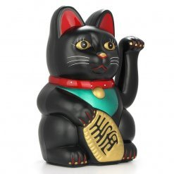 Lucky Feng Shui Black Cat