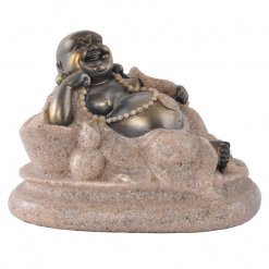 Resin Laughing Buddha in Feng Shui