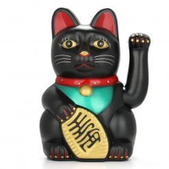 Lucky Chinese Feng Shui Black Cat